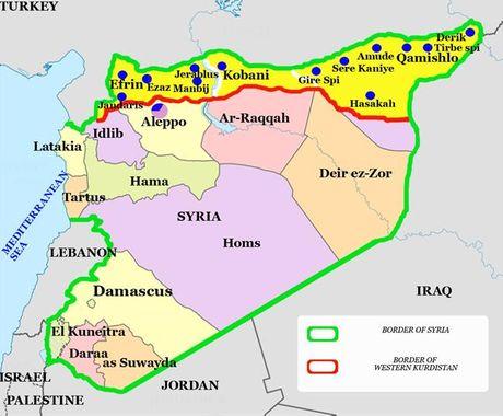 Nguoi Kurd dang don phien quan Hoi giao vao tu dia - Anh 2