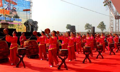 Pho Chu tich nuoc Nguyen Thi Doan dang huong tai den Hai Ba Trung - Anh 6