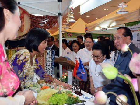 Viet Nam tham gia Lien hoan Am thuc ASEAN tai Campuchia - Anh 1
