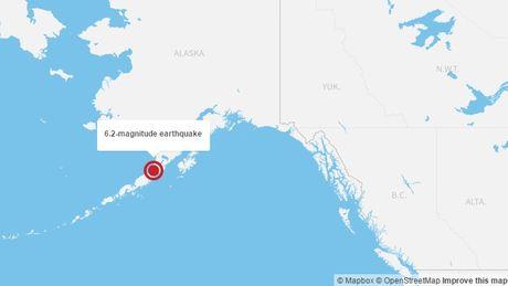 Dong dat manh 6,2 do Richter o Alaska, chua co canh bao song than - Anh 1