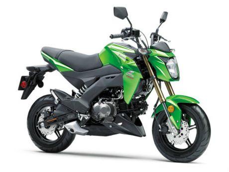Kawasaki Z125 Pro: doi thu xung tam cua Honda Grom - Anh 2