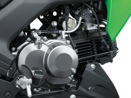 Kawasaki Z125 Pro: doi thu xung tam cua Honda Grom - Anh 3