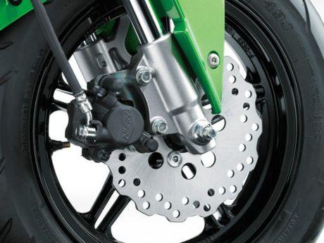 Kawasaki Z125 Pro: doi thu xung tam cua Honda Grom - Anh 4
