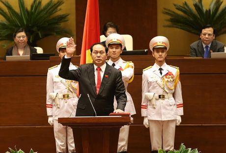 Dai tuong Tran Dai Quang duoc bau lam Chu tich nuoc - Anh 2