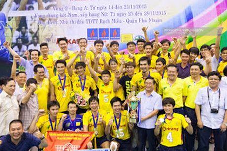 Truc tiep Maseco TPHCM vs Trang An Ninh Binh – Vong 1 Giai VDQG 2016 - Anh 1