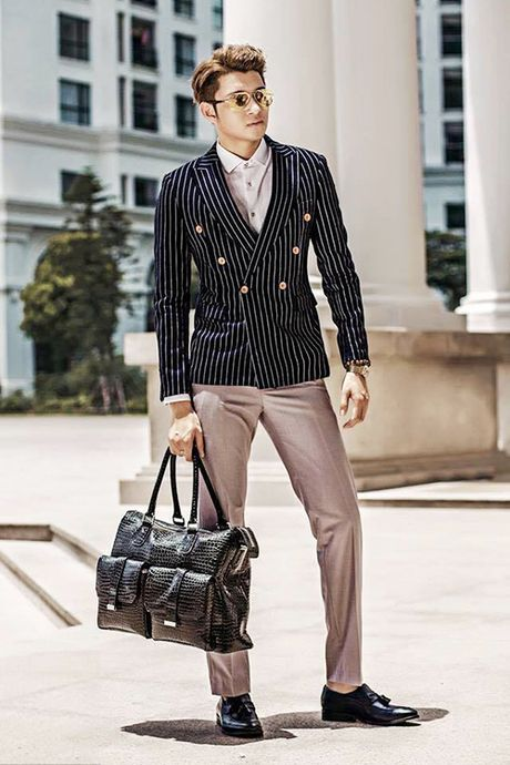 Hot boy hang khong dien trai, co phong cach thoi trang sanh dieu - Anh 6