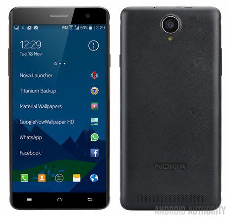 Lo dien Nokia A1 trung cap, ra mat giua mua he - Anh 1