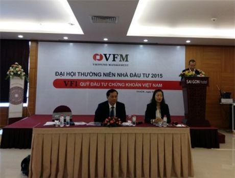 Dai hoi VFMVF1: Khong phan phoi loi nhuan nam 2015 - Anh 1