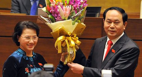 Ong Tran Dai Quang chinh thuc duoc bau lam Chu tich nuoc - Anh 1