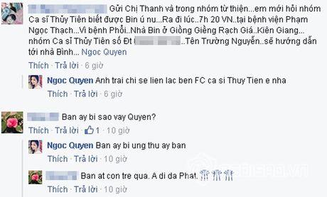 Thuy Tien doi hinh dai dien mau den tuong nho fans tre qua doi vi ung thu - Anh 7