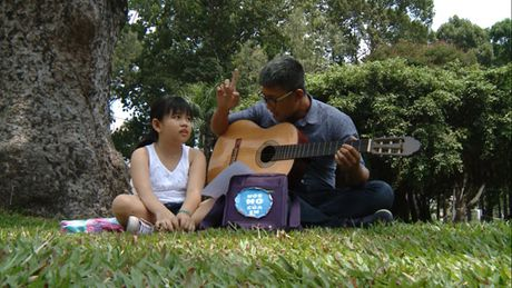 """Chi Thien–Thien Vuong lam """"hiep si"""" giup be thuc hien uoc mo - Anh 3"""