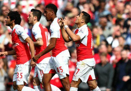 "Chi tiet Arsenal – Watford: Walcott ""dong dinh ti so"" (KT) - Anh 3"