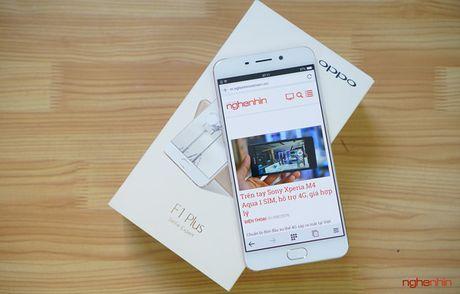 Khui hop Oppo F1 Plus - chuyen gia tu suong camera truoc 16MP - Anh 1