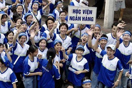 Hoc vien Ngan hang: Diem trung tuyen he lien thong khong thap hon 2 diem - Anh 1