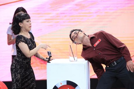 Viet Huong - Tran Thanh 'dan mat' nguoi choi game show - Anh 3