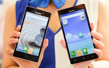 Philips gioi thieu 2 smartphone man hinh bao ve mat o VN - Anh 10