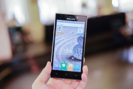 Philips gioi thieu 2 smartphone man hinh bao ve mat o VN - Anh 7