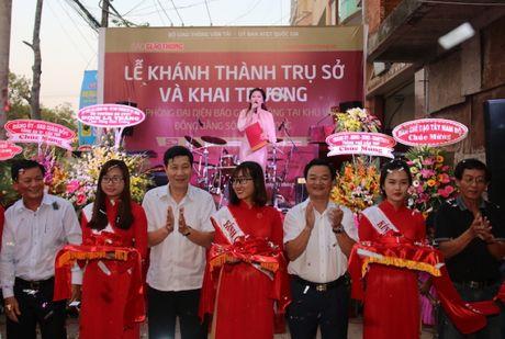 Khai truong Van phong dai dien Bao Giao thong tai DBSCL - Anh 1