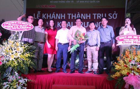 Khai truong Van phong dai dien Bao Giao thong tai DBSCL - Anh 4