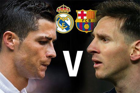 So sanh Messi va Ronaldo qua nhung tran El Clasico - Anh 1