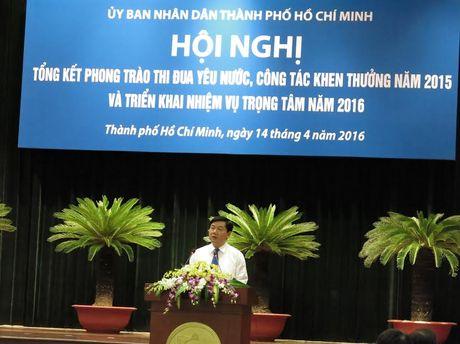 Bi thu Dinh La Thang: Thi dua yeu nuoc khong ho khau hieu suong! - Anh 1