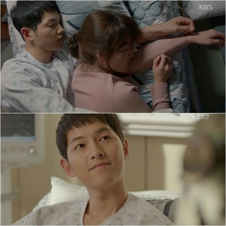 """""""Hau due cua mat troi"""" tap 15: Hye Kyo - Joong Ki ngu chung leu - Anh 1"""