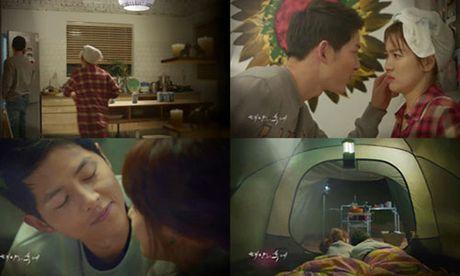 """""""Hau due cua mat troi"""" tap 15: Hye Kyo - Joong Ki ngu chung leu - Anh 2"""