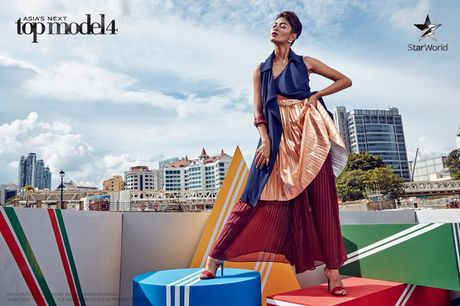 "Asia's Next Top Model: Thi sinh chu nha thang thung ""bat"" giam khao - Anh 5"