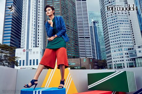 "Asia's Next Top Model: Thi sinh chu nha thang thung ""bat"" giam khao - Anh 6"
