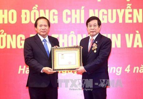 Ong Truong Minh Tuan nham chuc Bo truong Thong tin-Truyen thong - Anh 1