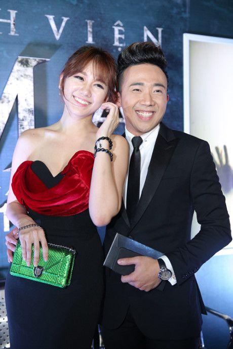Thoi trang Hari Won ngay tay trong tay voi Tran Thanh - Anh 5