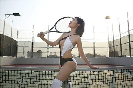 Milan Pham nong bong hut anh nhin tren san tennis - Anh 7