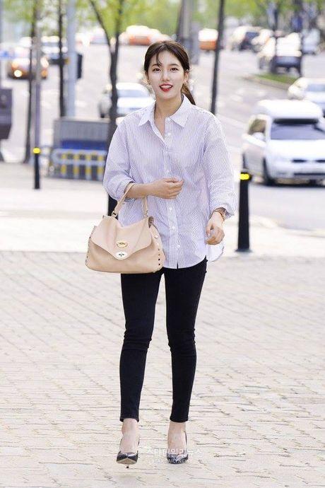 Suzy, Kim Woo Bin rang ro trong tiec 'chia tay' - Anh 2