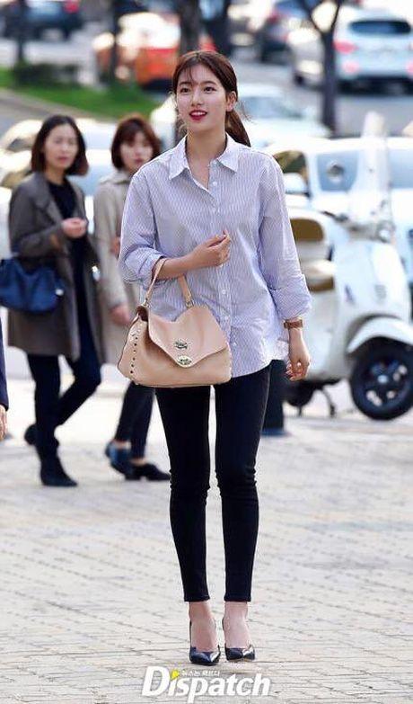 Suzy, Kim Woo Bin rang ro trong tiec 'chia tay' - Anh 4