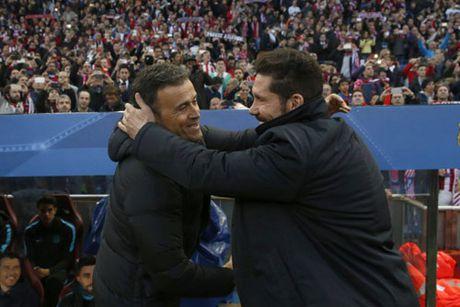 """Chum anh: Barca """"sa lay"""" o Vicente Calderon - Anh 1"""