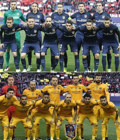 """Chum anh: Barca """"sa lay"""" o Vicente Calderon - Anh 2"""