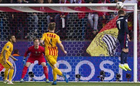 """Chum anh: Barca """"sa lay"""" o Vicente Calderon - Anh 3"""