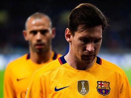 """Chum anh: Barca """"sa lay"""" o Vicente Calderon - Anh 6"""