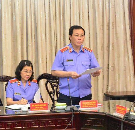Hoi nghi ban giao cong tac cua Vien truong VKSNDTC - Anh 3