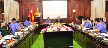 Hoi nghi ban giao cong tac cua Vien truong VKSNDTC - Anh 4
