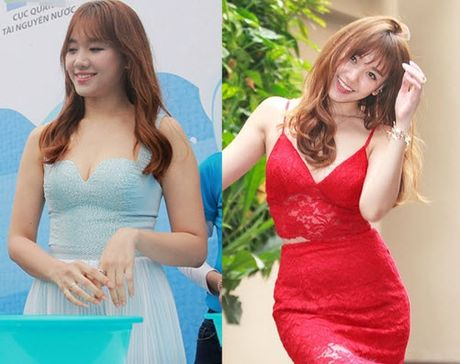Ngo ngang su thay doi cua Hari Won khi yeu Tien Dat va Tran Thanh - Anh 6