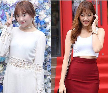 Ngo ngang su thay doi cua Hari Won khi yeu Tien Dat va Tran Thanh - Anh 7