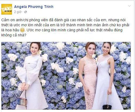 "Sau uoc mo lam Hoa hau, Angela Phuong Trinh dang phan dau lam ""Minh tinh dien anh""? - Anh 2"
