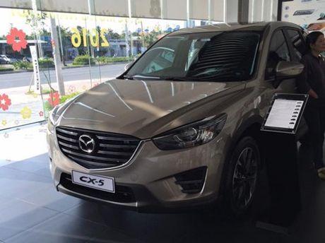 Mazda CX-5 ban chay gap doi Honda CR-V - Anh 1