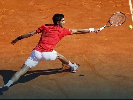 Vong 2 Monte Carlo: Djokovic thua soc truoc dan em Vesely - Anh 1
