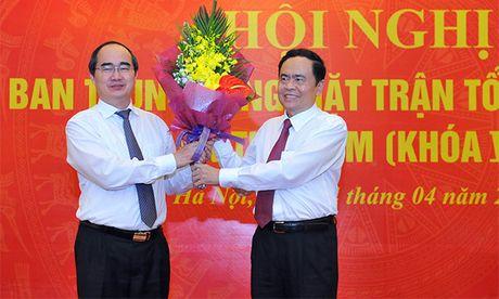 Hai Uy vien Bo Chinh tri tham gia Uy ban Trung uong MTTQ Viet Nam - Anh 1
