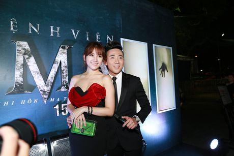 Tran Thanh - Hari Won quan quyt ben nhau ra mat phim - Anh 4