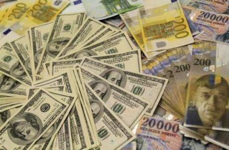 Dong USD ngay 14/4 vuot len cac dong tien chau A - Anh 1