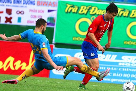 Truoc vong 6 V.League 2016: Dau bang de tho, DKVD gap kho - Anh 1