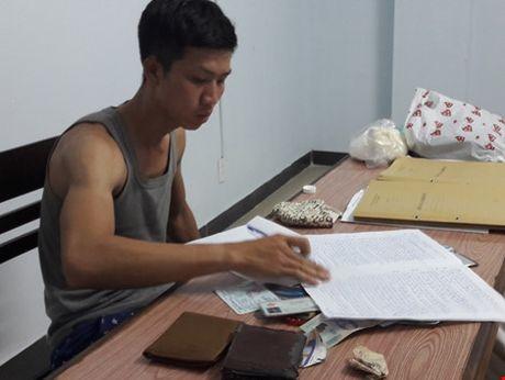 Bat khan cap doi tuong cuop giat tai san cua vo chong Viet kieu - Anh 1